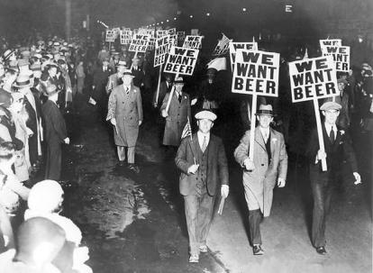 Prohibition-demonstration